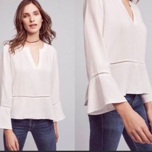 Cloth and Stone bell sleeve blouse